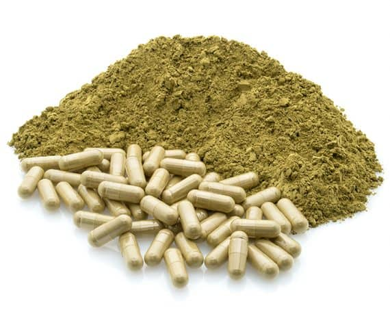 Capsule with Powder