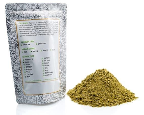 Green Bali Bag Powder