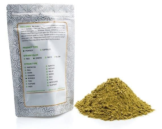 Green Borneo Bag Powder