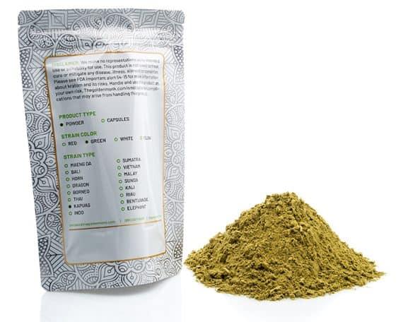 Green Kapuas Bag Powder