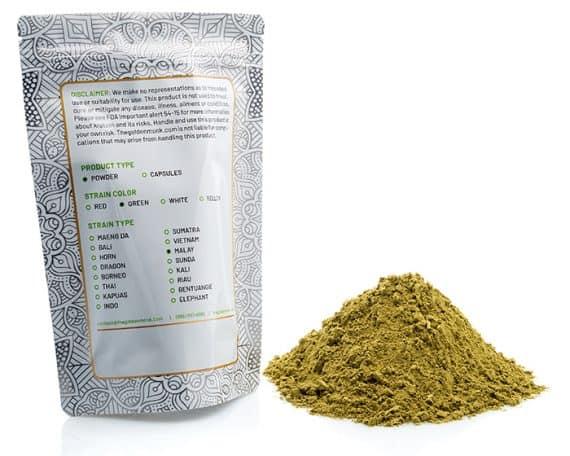 Green Malay Bag Powder