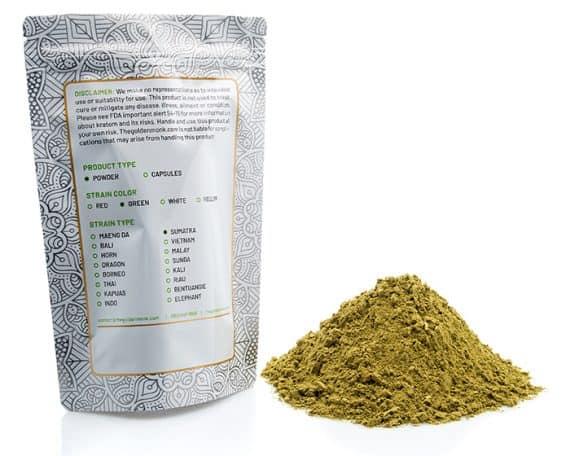 Green Sumatra Bag Powder