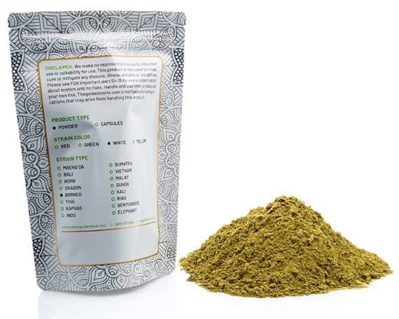 White Borneo Bag Powder