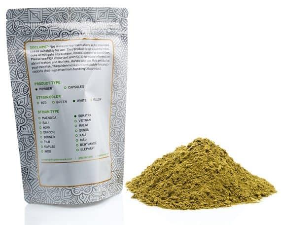 White Sumatra Bag Powder