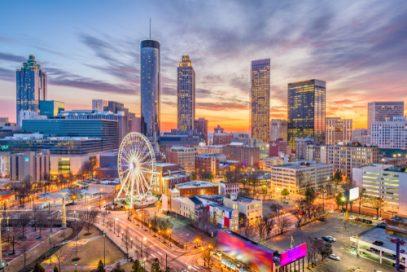 Atlanta Skyline. Find Kratom in Atlanta.