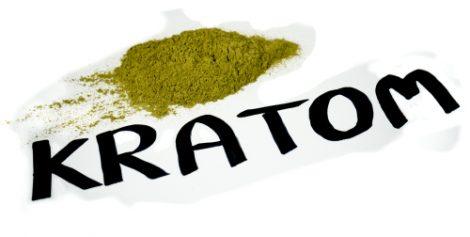Powder over white background Best Kratom vendor online