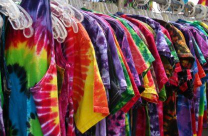 Head Shop tie-dye shirts