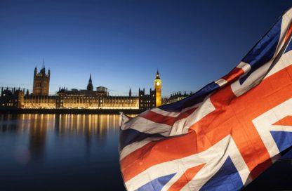Image of England and UK Flag